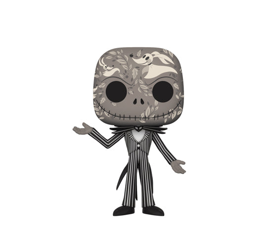 The Nightmare Before Christmas - Jack Skellington Zero Skull Print #15 (Hot Topic) Funko Pop! Vinyl