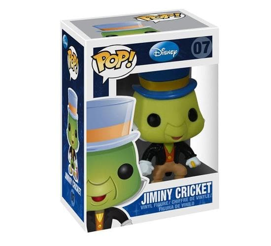 Disney - Jiminy Cricket #07 Funko Pop! Vinyl (Vaulted)