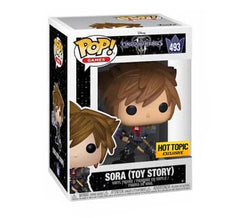 Disney's Kingdom Hearts III - Sora (Toy Story) #493 Funko Pop! Vinyl (Hot Topic)