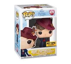 Disney's Mary Poppins Returns - Mary Poppins with Umbrella #470 (Hot Topic) Funko Pop! Vinyl