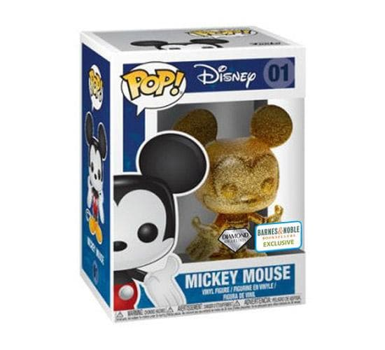 Diamond Collection Mickey Mouse #01 Funko Pop! Vinyl (Barnes & Noble)