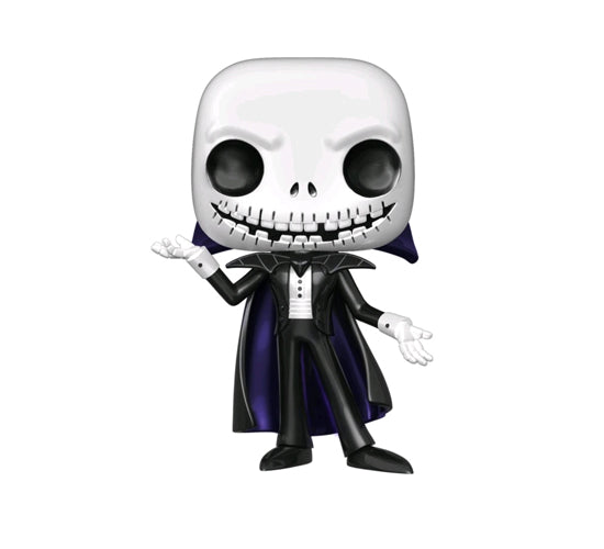 The Nightmare Before Christmas - Metallic Vampire Jack #598 (Hot Topic) Funko Pop! Vinyl