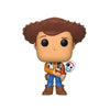 Disney-Pixar: Toy Story 4 - Sheriff Woody Holding Forky #535 (Hot Topic) Funko Pop! Vinyl