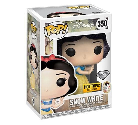 Disney - Diamond Collection Snow White #350 (Hot Topic) Funko Pop! Vinyl