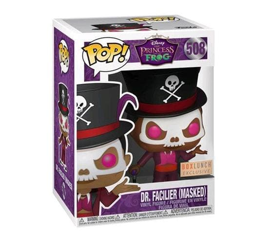 Disney's The Princess and the Frog - Masked Dr  Facilier #508 (BoxLunch)  Funko Pop! Vinyl