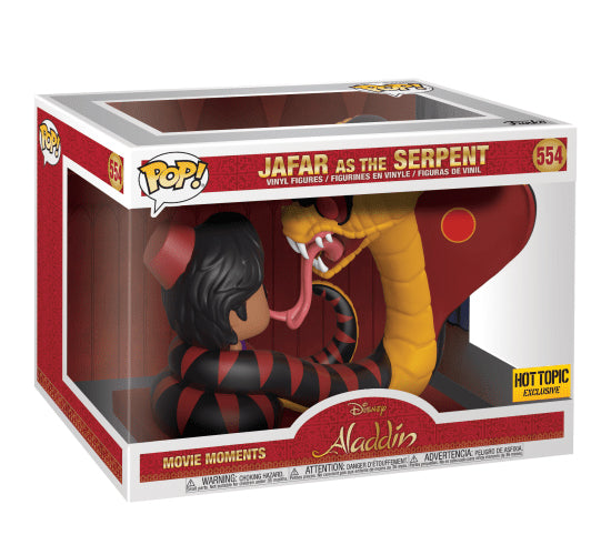 Jafar as the Serpent Funko Pop! Movie Moment