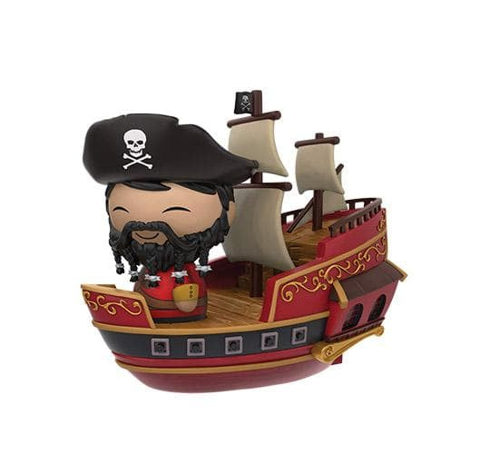 Wicked Wench Captain with Pirate Ship #29 Dorbz Ridez (Disney Treasures)