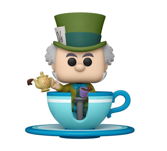 Disneyland 65th: Alice in Wonderland - Mad Hatter in Teacup #87 (Target Exclusive) Funko Pop! Vinyl