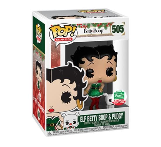 Elf Betty Boop & Pudgy #505 (Funko Shop) Funko Pop! Vinyl