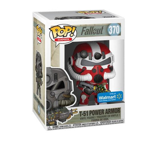 Fallout T-51 Power Armour Funko Pop Vinyl Figure 370 New Gaming