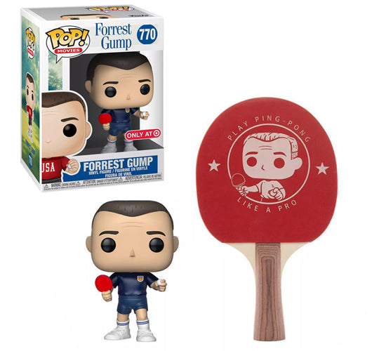 Forrest Gump Collectors Box - Forrest Gump #770 Funko Pop! Vinyl & Ping Pong Paddle (Target Exclusive)