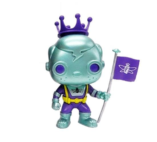 Freddy Funko - Space Robot (Blue & Purple) Funko Pop! Vinyl (SDCC 2018)