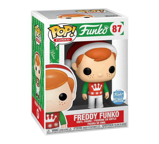 Pop! Funko - Holiday Freddy Funko #87 (Funko Shop Limited Edition) Funko Pop! Vinyl