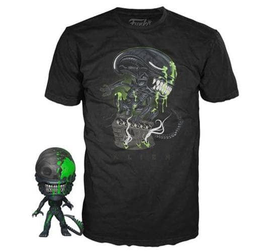 Alien 40th Anniversary - Funko Pop! Vinyl & T-Shirt Bundle (Target Exclusive)