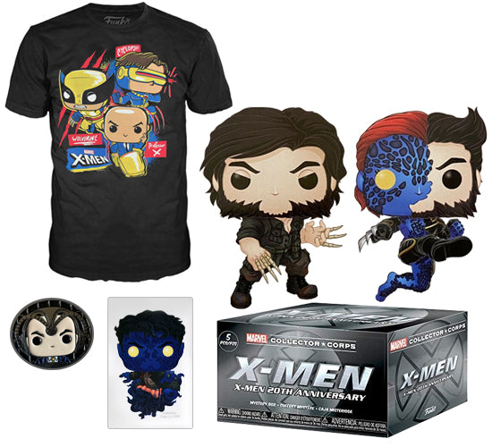 Marvel Collector Corps: X-Men 20th Anniversary Box (Amazon Exclusive)