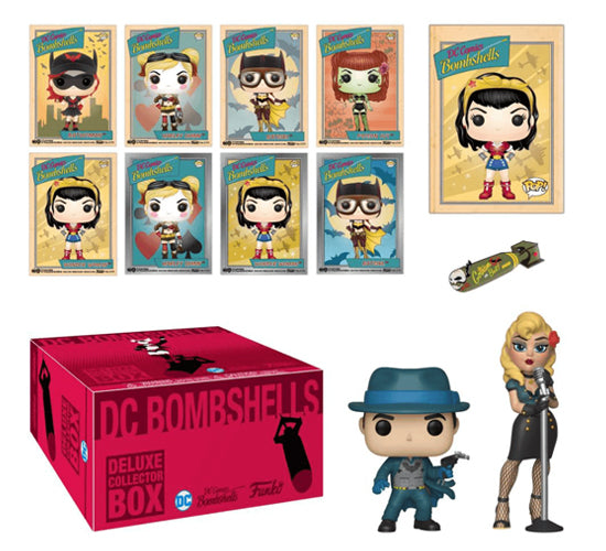 DC Comics Bombshells Deluxe Collectors Box (Target Exclusive)