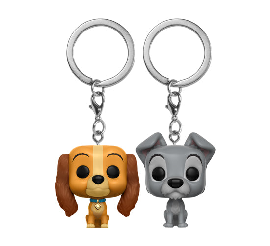 Disney Treasures - Lady & the Tramp Pocket Pop! Keychain 2-Pack
