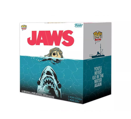 Jaws Collectors Box - Great White Shark #758 Funko Pop! Vinyl & Pop! Tee Bundle (Target Exclusive)