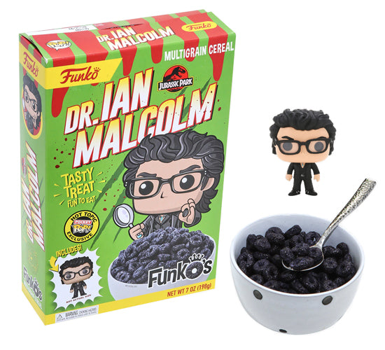 FunkO's - Jurassic Park Dr. Ian Malcom (Hot Topic Exclusive) Cereal