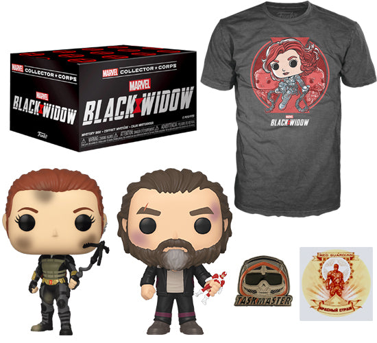 Marvel Collector Corps Box - Black Widow (Amazon Exclusive)