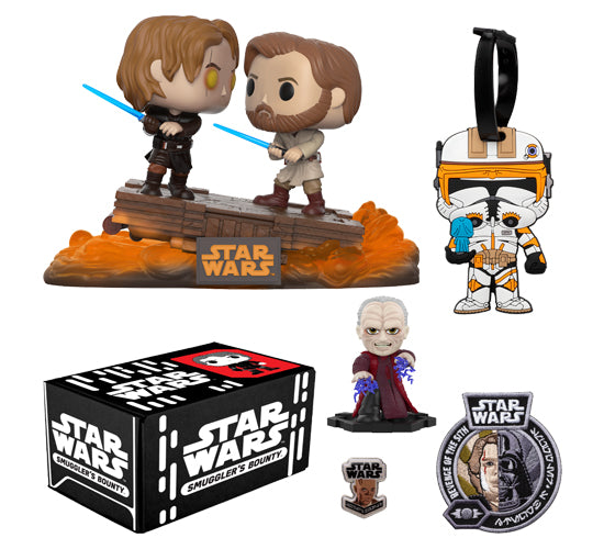 Star Wars Smuggler S Bounty Box Revenge Of The Sith Cultchafreak