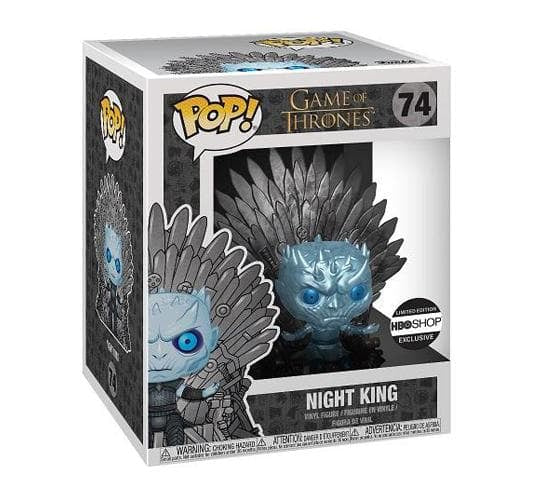 Game of Thrones - Metallic Knight King on Throne #74 (HBO Shop Exclusive) Funko Pop! Vinyl