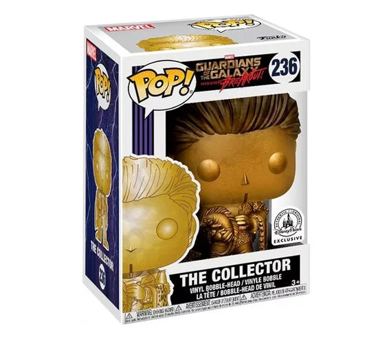The Collector #236 (Gold / Disney Parks Exclusive) Funko Pop! Vinyl