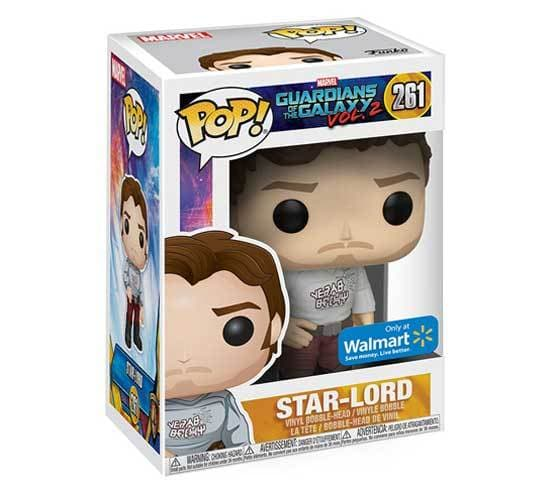 Guardians of the Galaxy Vol. 2 - Star-Lord #261 (Walmart) Funko Pop! Vinyl