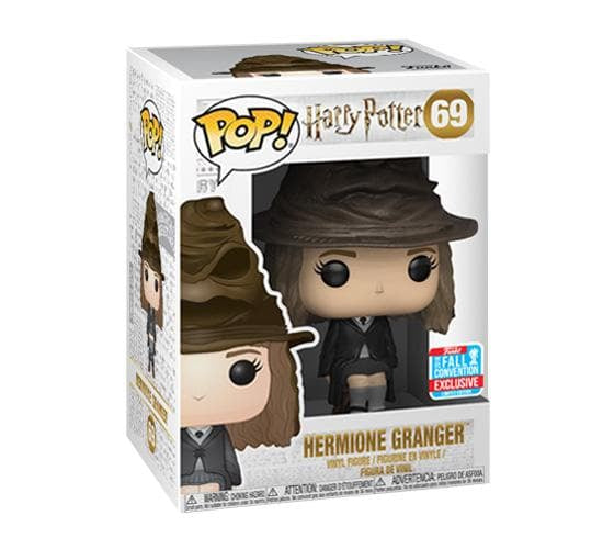 Harry Potter - Hermione Granger with Sorting Hat #69 (NYCC 2018) Funko Pop! Vinyl
