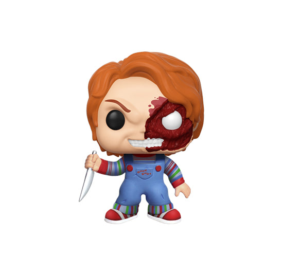 Funko Horror Child's Play 3 - Half Face Bloody Chucky #798 (Walmart Exclusive) Funko Pop! Vinyl