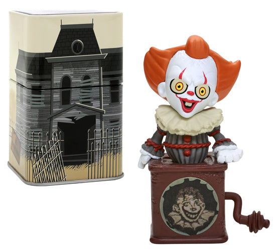 Pennywise Jack-in-the-Box Mystery Mini and Tin
