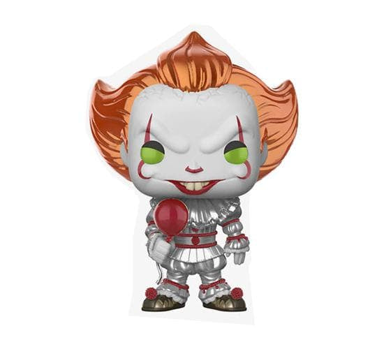 It - Metallic Pennywise Funko Pop! Vinyl & T-Shirt Box (Hot Topic Exclusive)