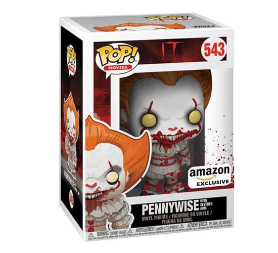 It - Pennywise with Severed Arm #543 Funko Pop! Vinyl (Amazon)