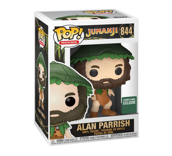 Jumanji - Alan Parish with Knife #844 (Barnes and Noble) Funko Pop! Vinyl