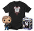 Pop! Icons - Mark Hamill #27 Funko Pop! Vinyl & Lavabear T-Shirt Bundle (DesignerCon Exclusive)
