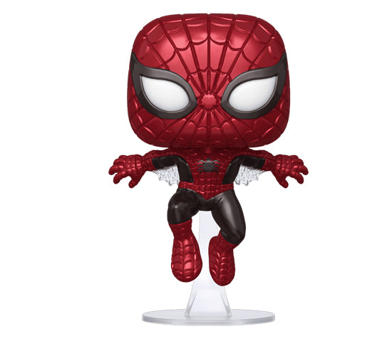 Marvel 80 Years: Metallic Spider-Man #593 (Hot Topic Exclusive) Funko Pop! Vinyl