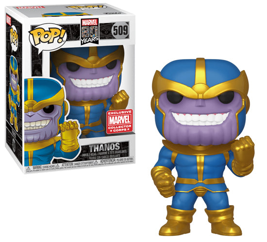 Marvel 80 Years - Thanos #509 (Marvel Collector Corps 1939) Funko Pop! Vinyl