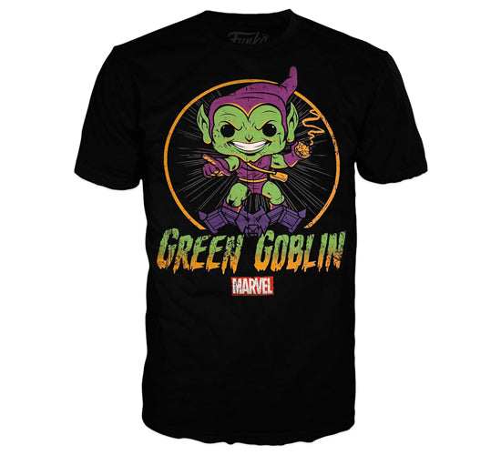 Marvel Collector Corps Box - 1939 (Amazon Exclusive) - Marvel 80 Years Green Goblin Funko Pop! Tees