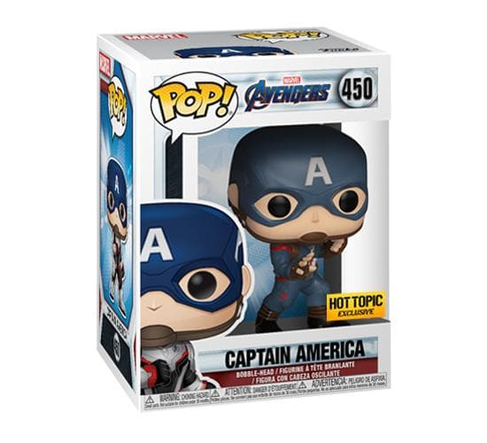Avengers: Endgame - Captain America #464 (Hot Topic) Funko Pop! Vinyl