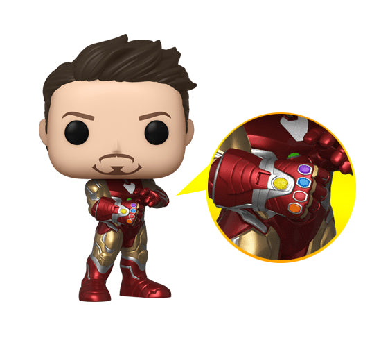 Avengers: Endgame - Iron Man with Gauntlet #529 (2019 Fall Convention) Funko Pop! Vinyl