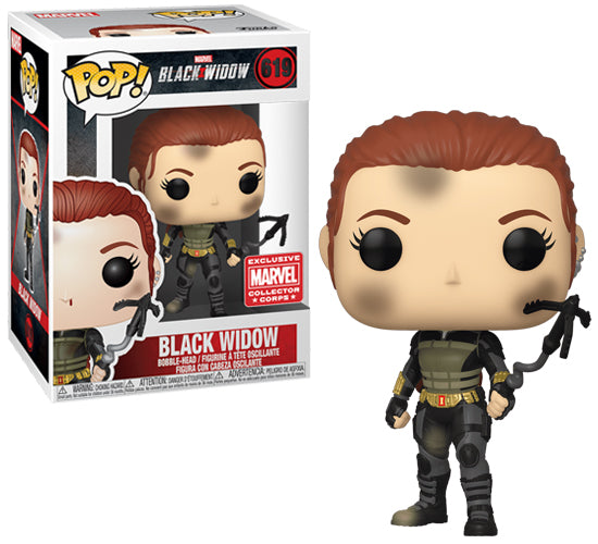 Black Widow #619 (Marvel Collector Corps Exclusive) Funko Pop! Vinyl