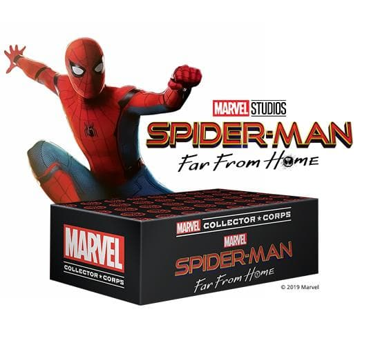 Marvel Collector Corps Box - Spider-Man: Far From Home (Amazon Exclusive)