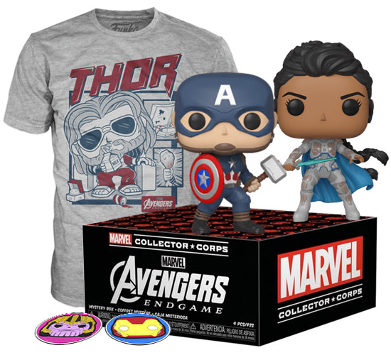 Marvel Collector Corps Box - Avengers: Endgame (Amazon Exclusive)