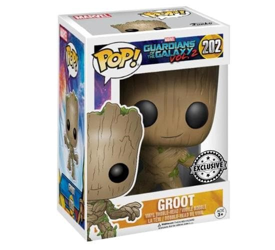 Funko POP Marvel Guardians Of The Galaxy Vol.2 202 Groot Life Size Exclusive