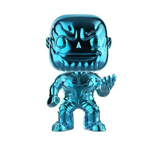 Blue Chrome Thanos #289 Funko Pop! Vinyl (Walmart Exclusive)
