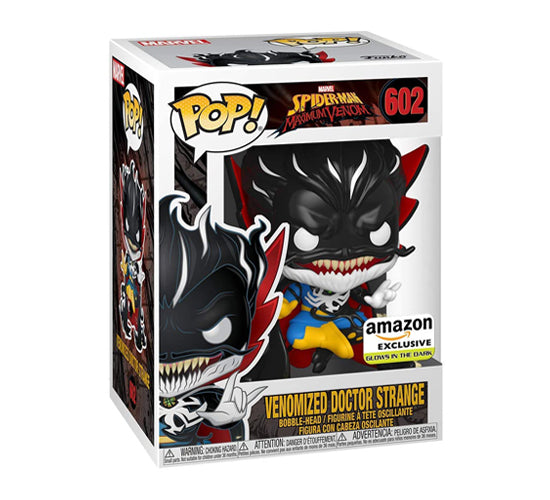 Maximum Venom - Venomized Doctor Strange #602 (Amazon Exclusive, Glow in the Dark) Funko Pop! Vinyl