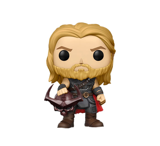 Thor: Ragnarok - Thor with Surtur Head #246 (Hot Topic) Funko Pop! Vinyl