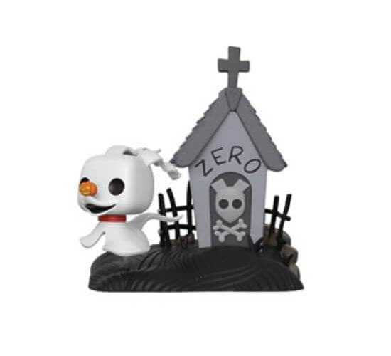 The Nightmare Before Christmas - Zero in Doghouse #436 (Box Lunch) Funko Pop! Movie Moments