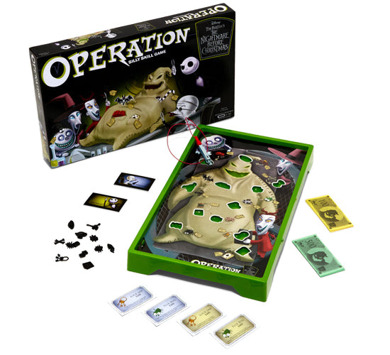 Disney's The Nightmare Before Christmas Operation (Oogie Boogie Edition) Board Game