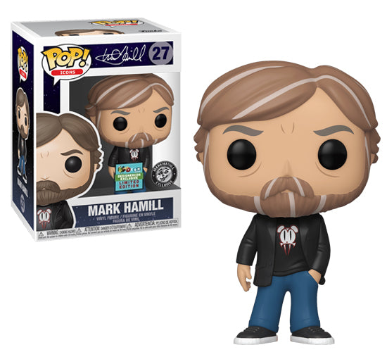 Pop! Icons - Mark Hamill #27 Lavabear (DesignerCon Exclusive) Funko Pop! Vinyl
